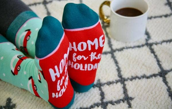 Home for the Holidays Socks