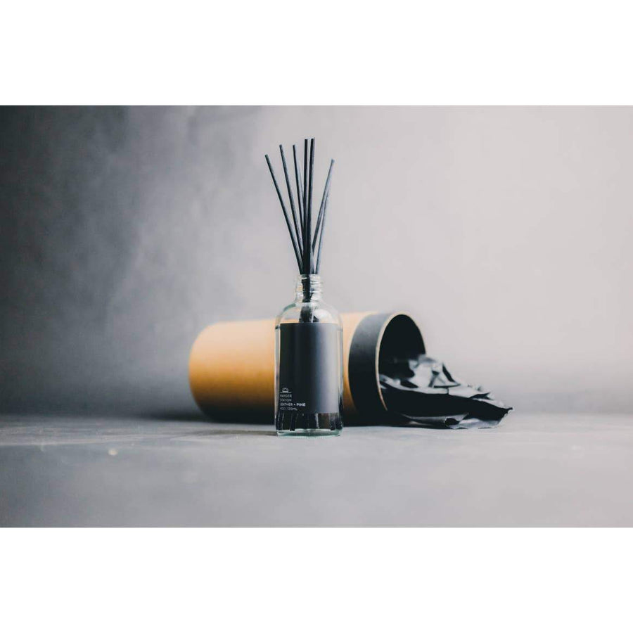 Leather + PIne Reed Diffuser
