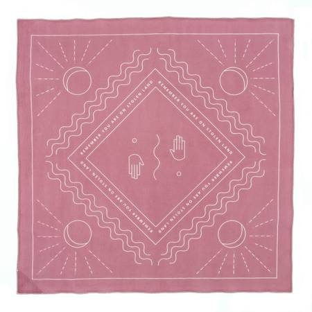 Remember You Are On Stolen Land Bandana