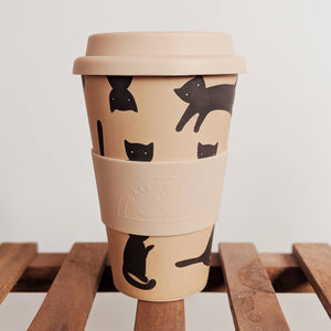 Pepito Cat Print Cafe Yo Cup