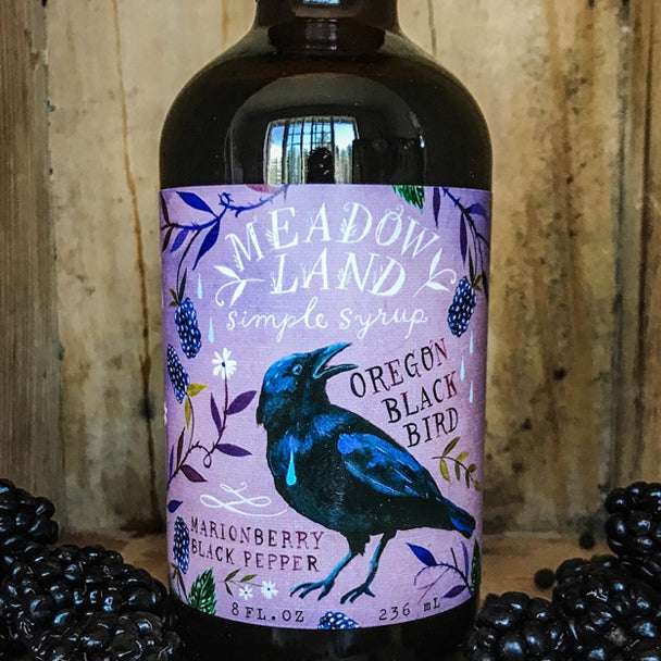Oregon Black Bird Simple Syrup