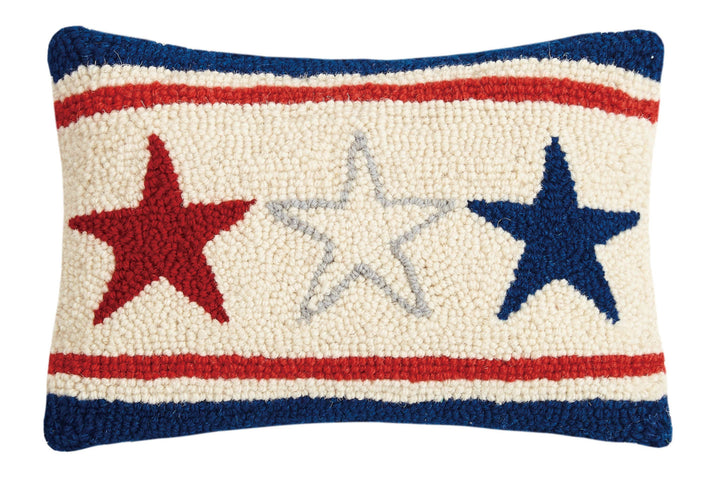 Americana Stars Hook Pillow