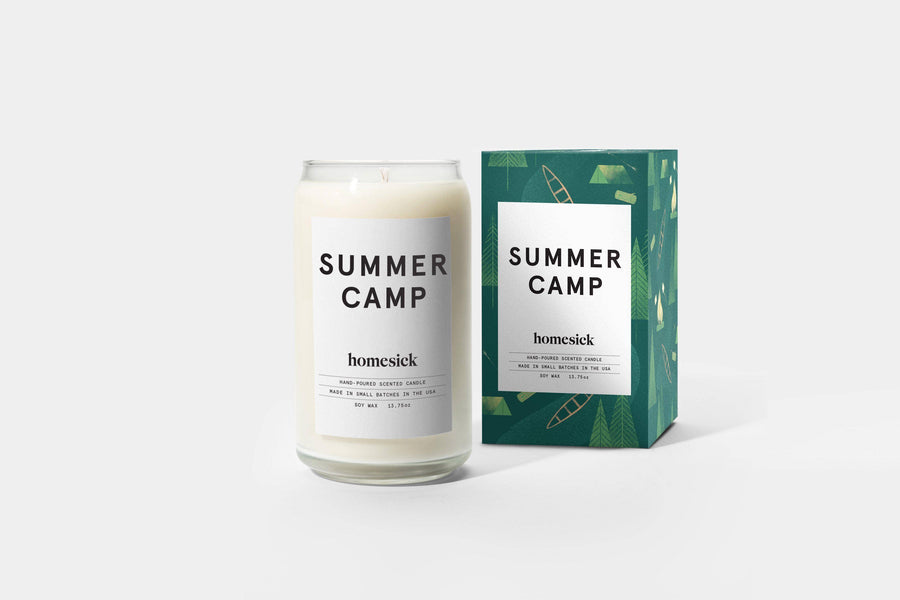 Summer Camp Candle