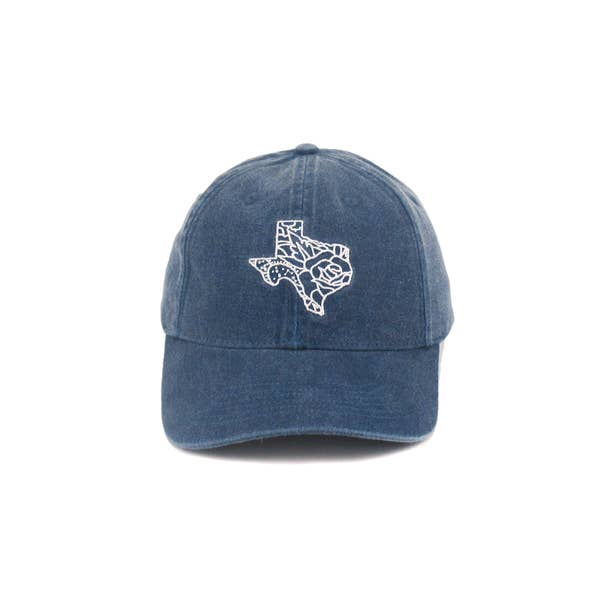 Texas Denim Dad Hat