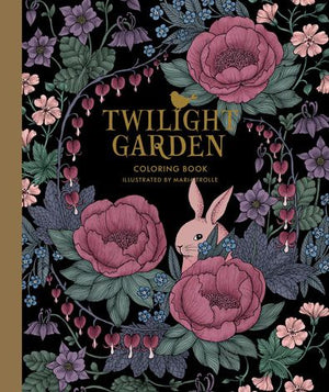 Twilight Garden Coloring Book