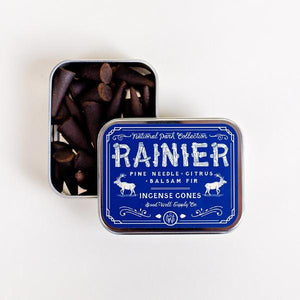 Rainier Incense - Balsam Fir, Pine needle + Citrus
