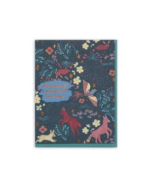 Forest Pattern Card