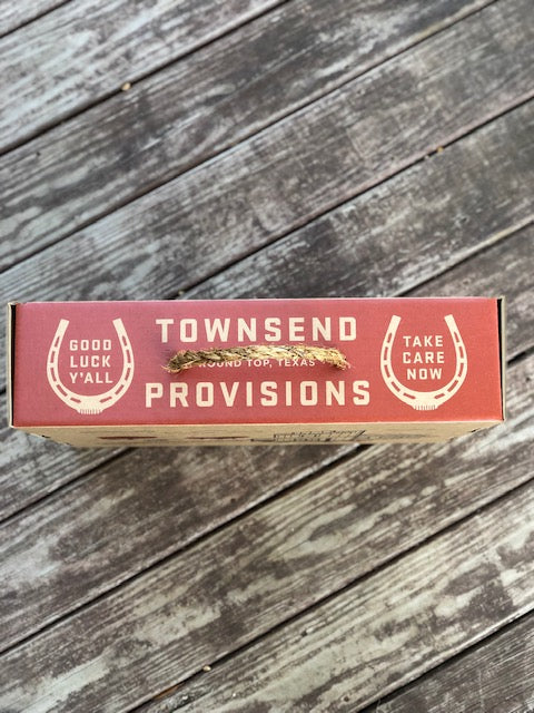 Townsend Provisions Boot Box