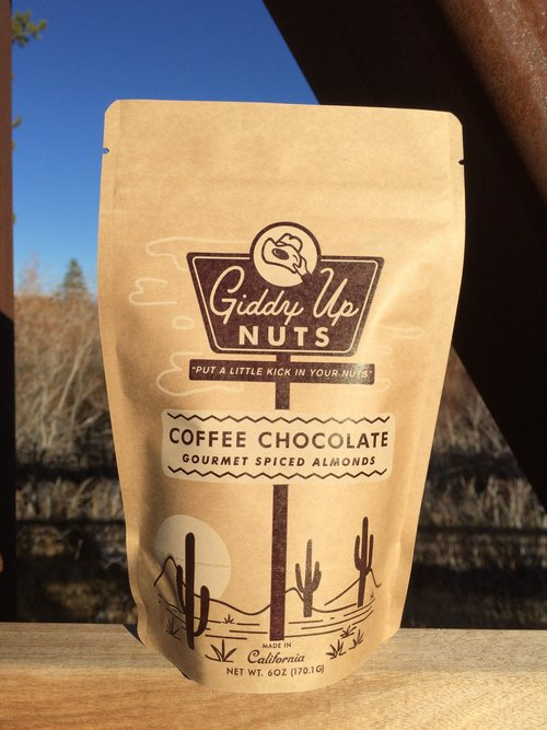 Giddy Up Nuts 6oz Pantry Sized Bag