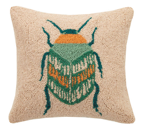 Ethereal Garden Bug Pillow by PKHC