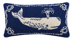 Nautical Whale Pillow by PKHC