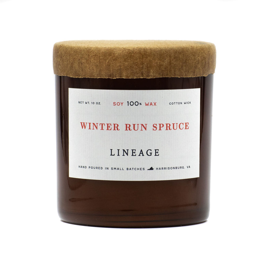 Winter Run Spruce Candle