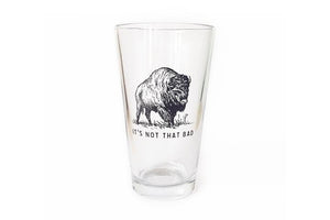 Buffalo Pint Glass