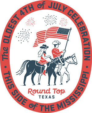 Round Top 4th of July Celebration T-Shirt