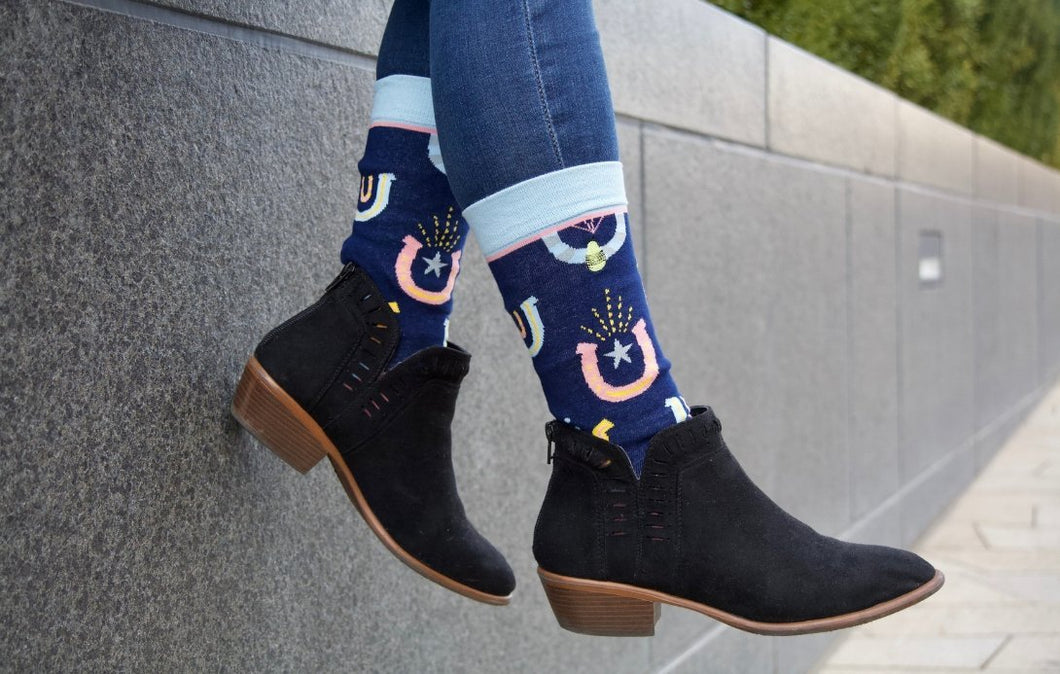 Lucky Horseshoe Socks