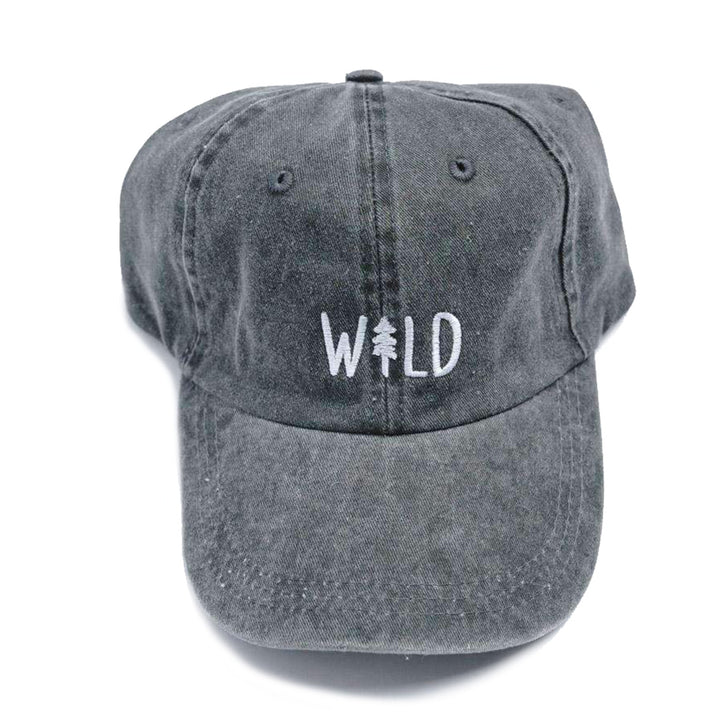 Wild Pine Dad Hat in Smoke