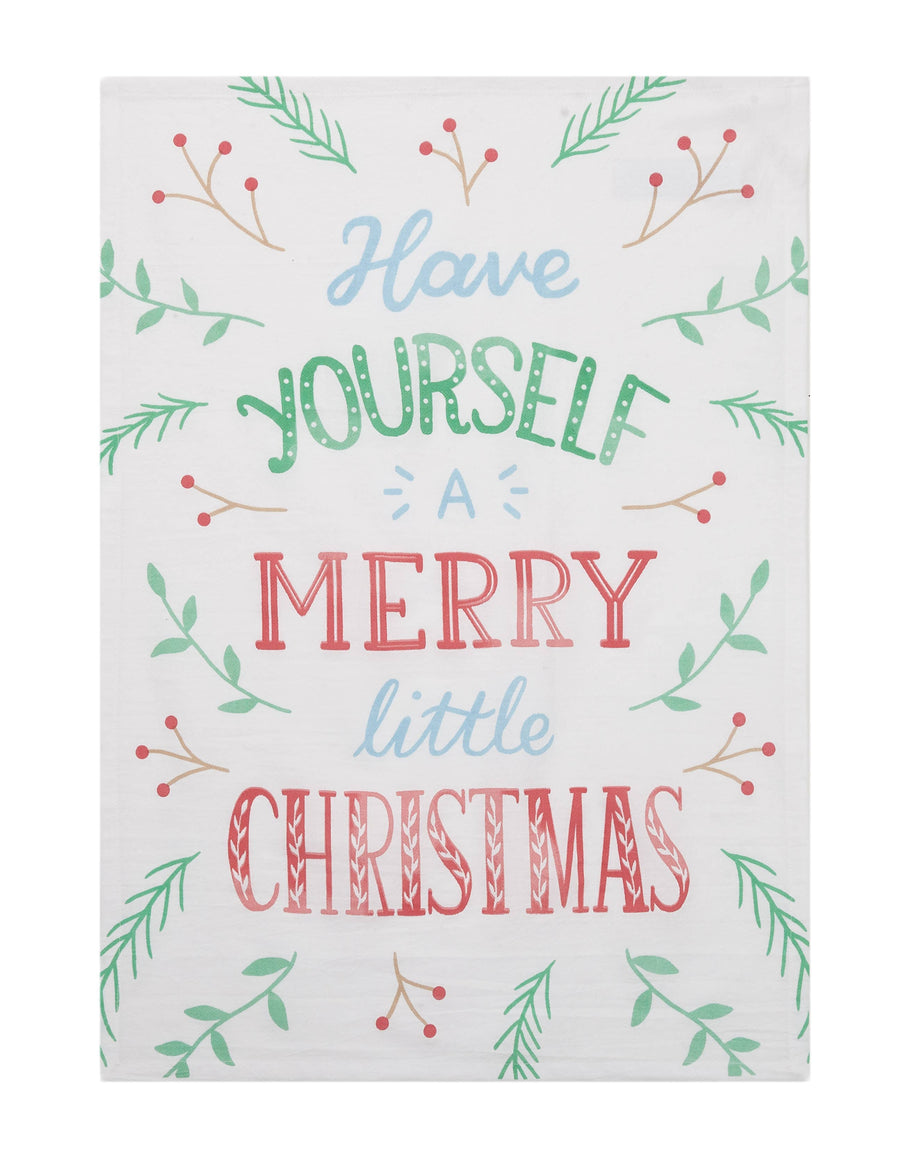 Have Yourself A Merry Little Christmas Kitchen Towel