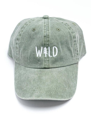 Wild Pine Dad Hat in Spruce
