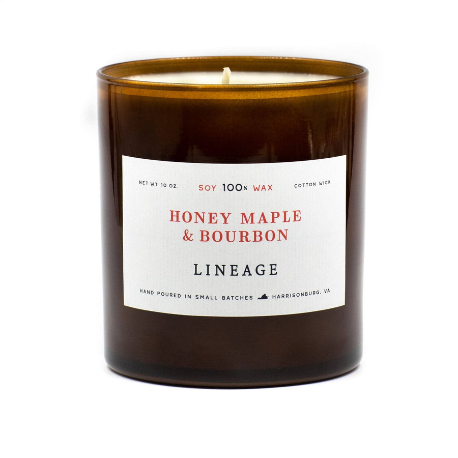 Honey Maple & Bourbon Candle