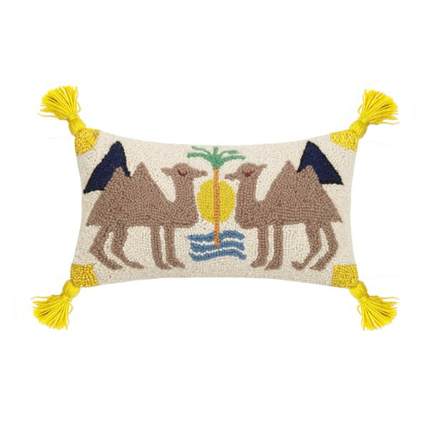 Dune with Tassels Hook Pillow