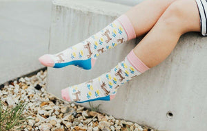 Goat (I Kid You Not) Socks by Woven Pear