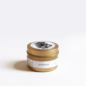 Cardamom Travel Tin Candle