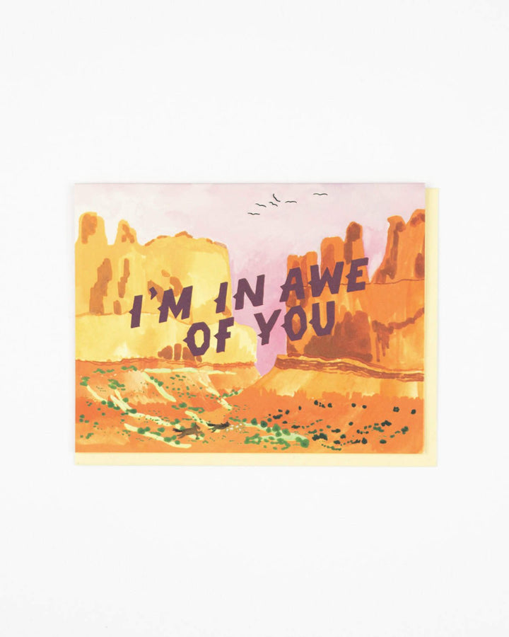 In Awe of You Card