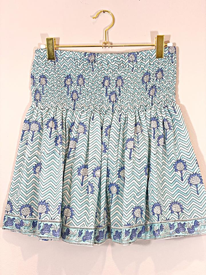 ModernSoul Cornflower Mini Skirt