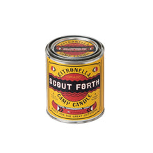 Scout Forth Citronella Camp Candle