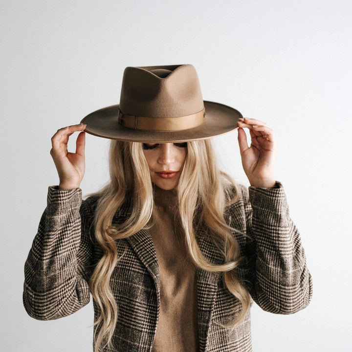 Monroe Brown Women's Rancher Hat
