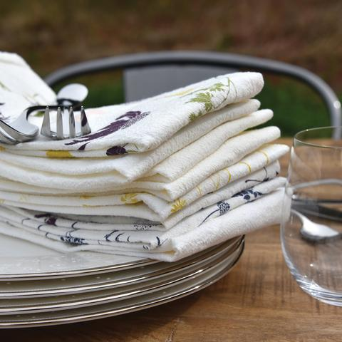Butterfly Garden Napkins Set of 4