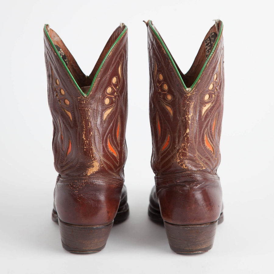 Vintage Acme Pee Wee Shorty Cowboy Boots