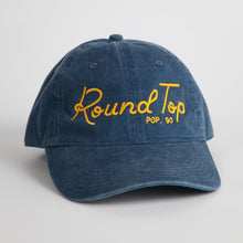 "Blue and Gold  ""Round Top Pop 90"" Dad Hat"