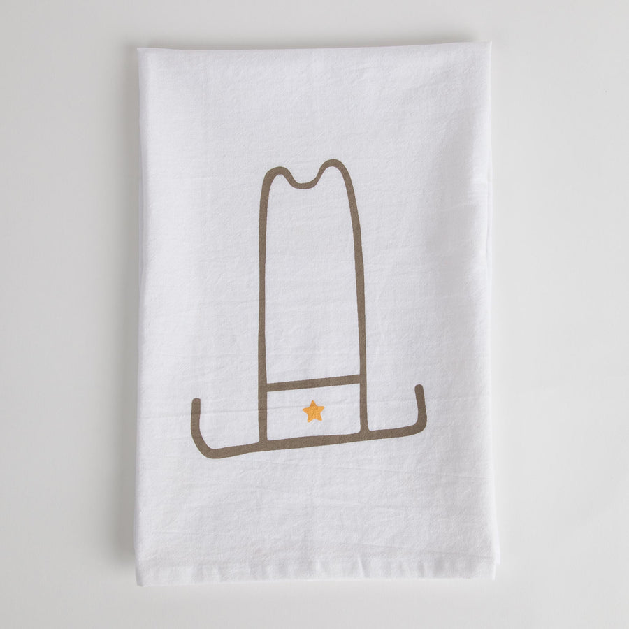 Cowboy Hat Tea Towel