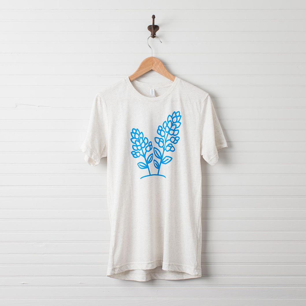 Bluebonnet T-Shirt (Oatmeal)