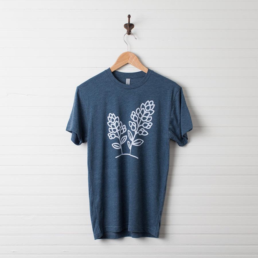 Bluebonnet T-Shirt on Indigo