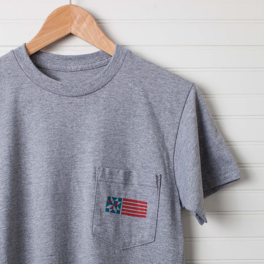 Good Things from Old America Pocket Tee