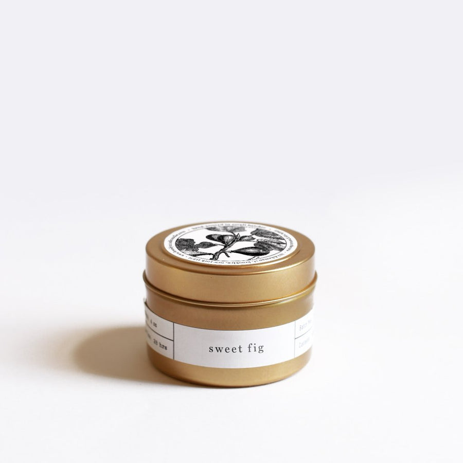 Sweet Fig Travel Tin Candle