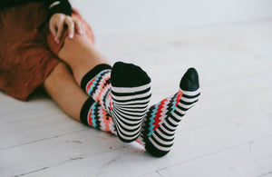 Tribal Toes Socks