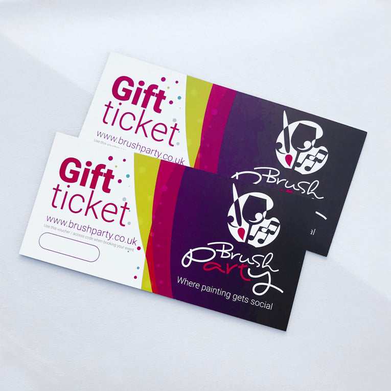 2 Brush Party Gift Vouchers - Buy 2 and save £3