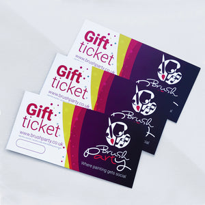 3 Brush Party Gift Vouchers - Buy 3 and save £6