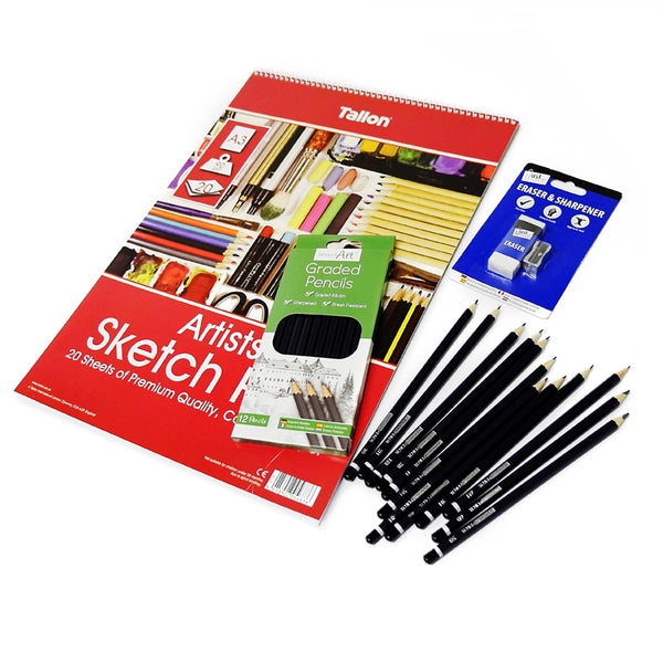 Brush Party Drawing kit - 'Draw with us at home' essentials