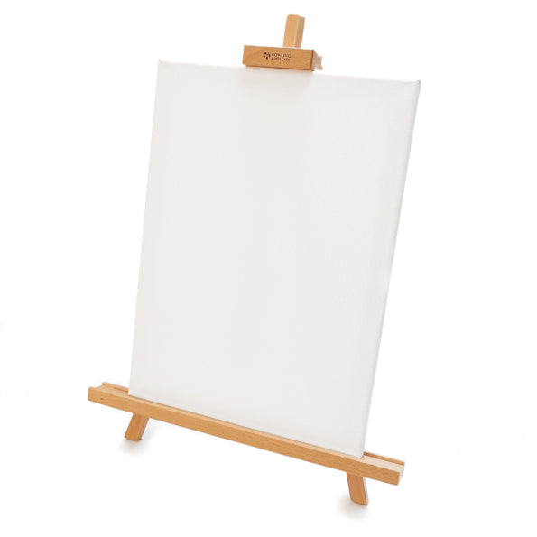 Artists Table Top Easel with Canvas