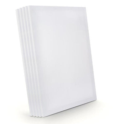 Pack of 5 quality Canvases 16 x 12 inches