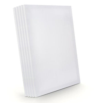 Pack of 5 quality Canvases 16 x 20 inches