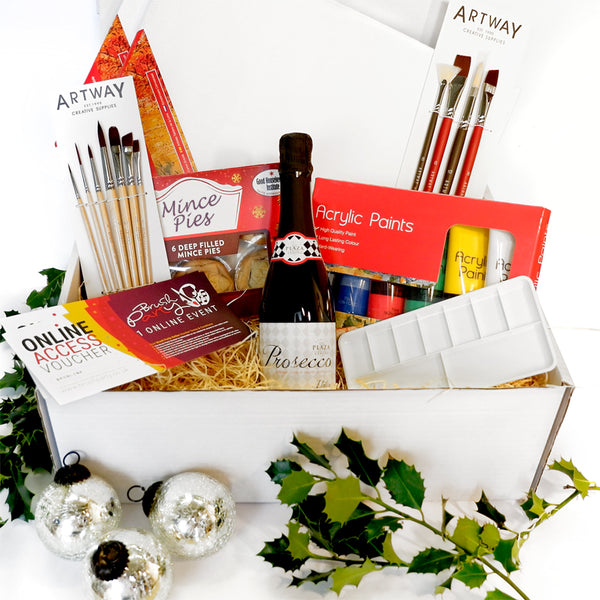 Brush Party Christmas Hamper