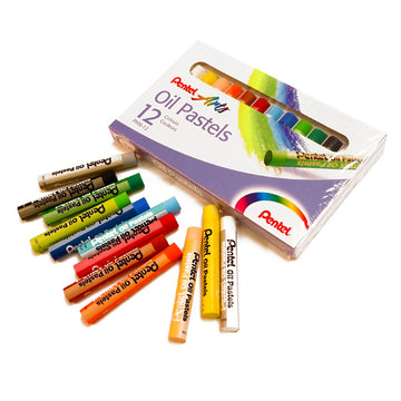 Pentel Arts Oil Pastel Set of 12