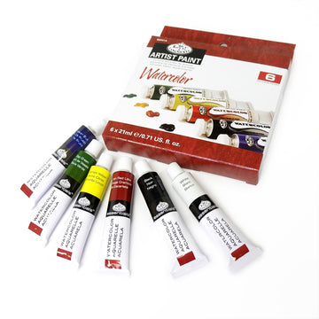 Royal & Langnickel Watercolour Paint Set (6 x 21ml)