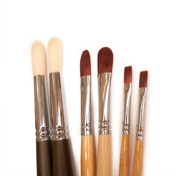 Mixed 'Extras' Paintbrush Pack - 6 Brushes
