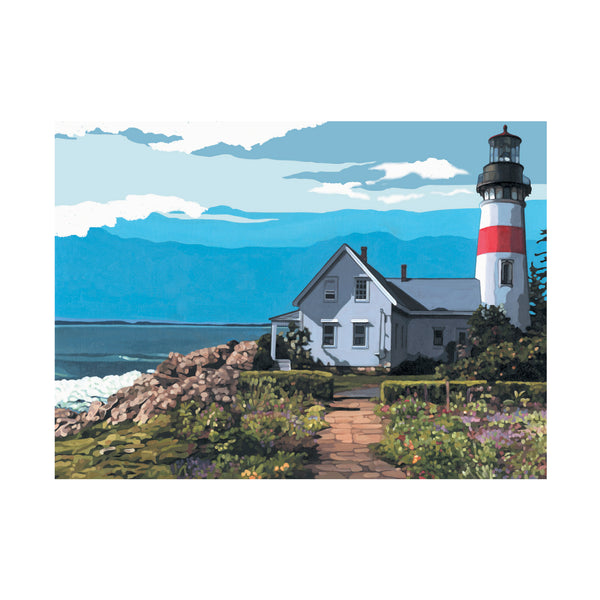 Painting by Numbers - The Lighthouse